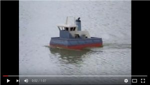 Alan Bond's (Springer) Pusher Tug (further build)