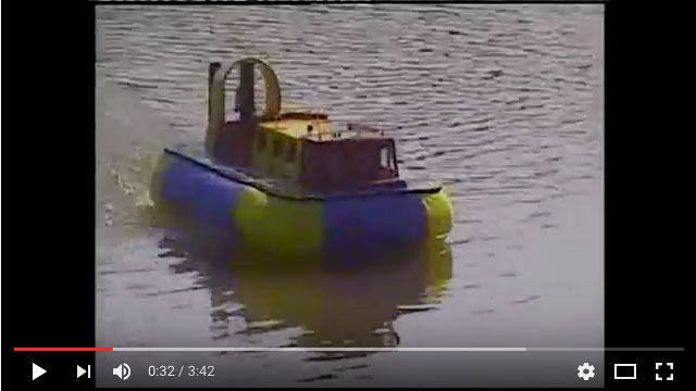 Chris-Chattaway's-Griffin-Hovercraft,-remotored
