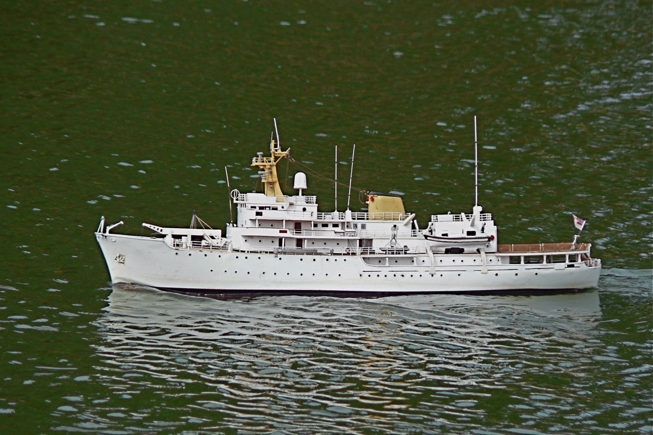 HMS Hecla Survey Vessel