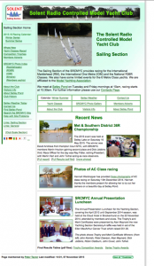 SRCMYC old Home Page