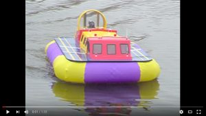 Chris Chattaway's Griffin Hovercraft