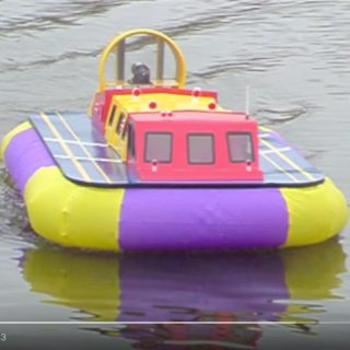 Chris Chattaway - Griffin Hovercraft