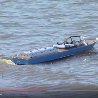 Don Brazier - Inboard Motor Speedboat