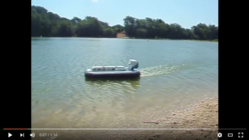 Fran Oakey - Griffin Hovercraft
