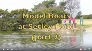 Model Boats at Setley Pond Part 2