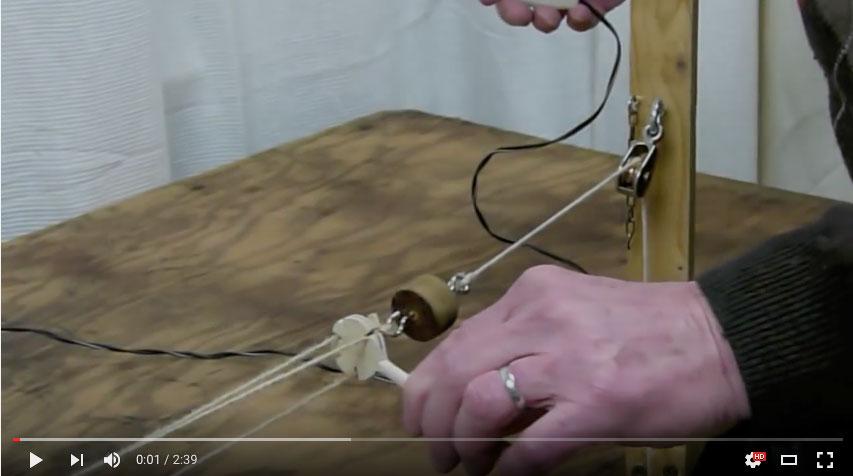 Paul Nixon - Rope Making Machine