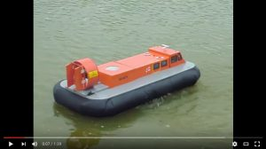 Peter Bryant's Griffin 2000 Hovercraft