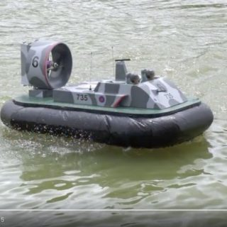 Peter Bryant - Military Hovercraft
