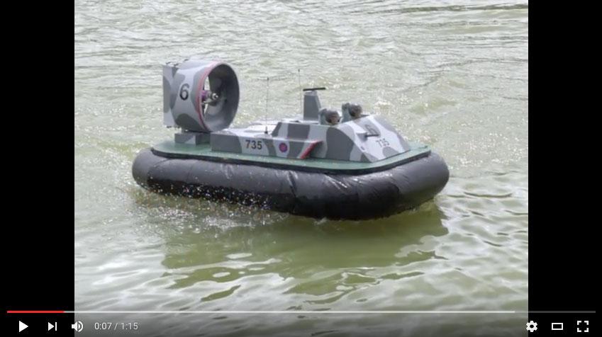 Peter Bryant - Military Hovercraft