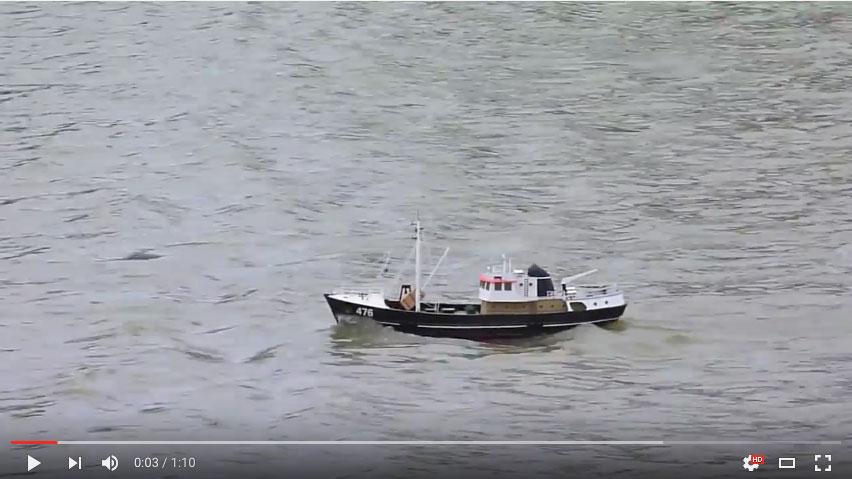 Reg Radley - Nordkap Trawler