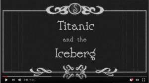 Titanic and the Iceberg