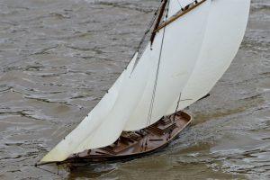 Columbia, racing schooner