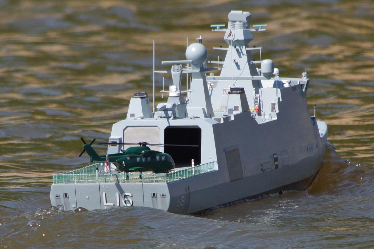 HDMS Absalon - Nick Leaper