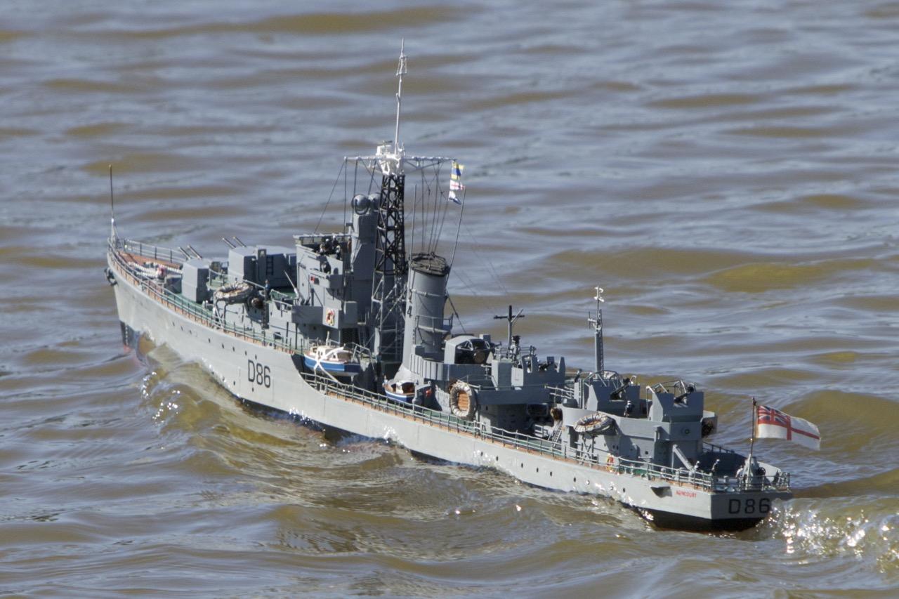 HMS Agincourt - D McN-Taylor