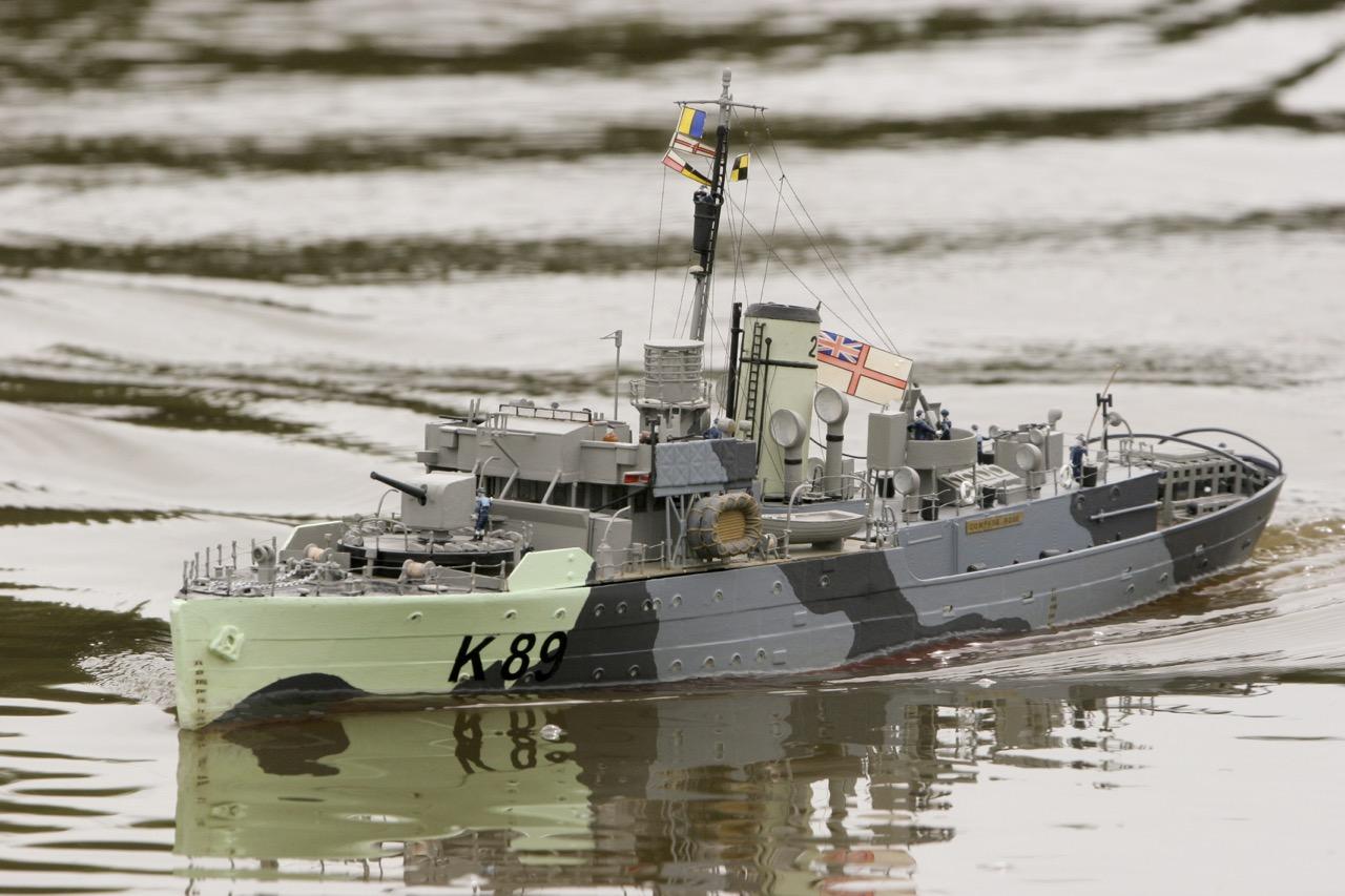 HMS Compass Rose - L & A Soffe