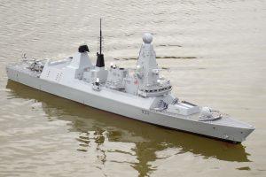 HMS Dauntless - D McN-Taylor
