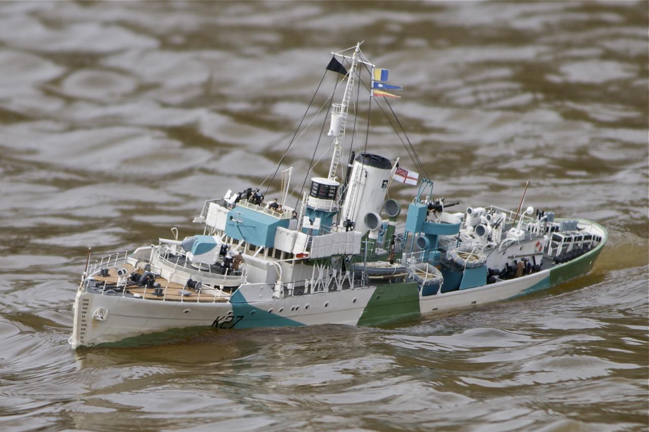 HMS Honeysuckle - D McN-Taylor