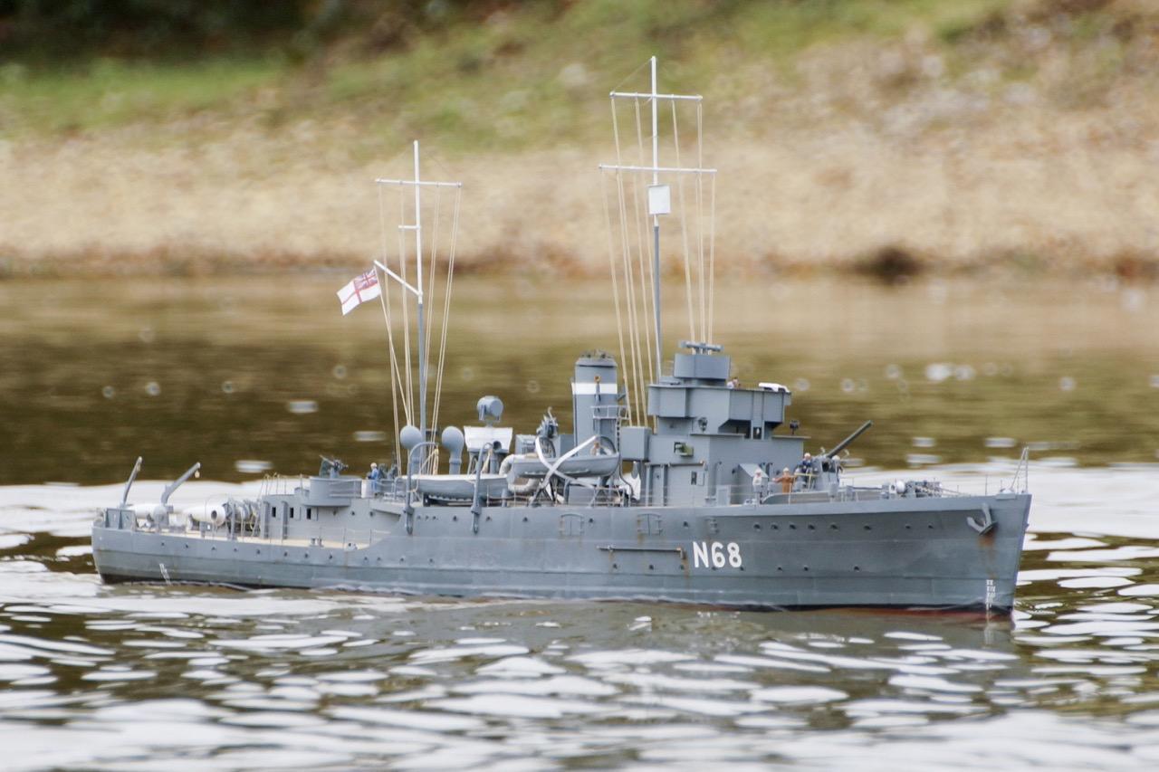 HMS Sharpshooter - John Edwards