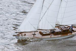 Kathleen, wishbone schooner