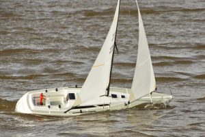 Moonshadow racing yacht