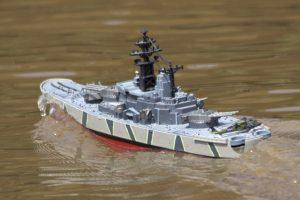 Pocket warship - Lorna and Andrew Soffe