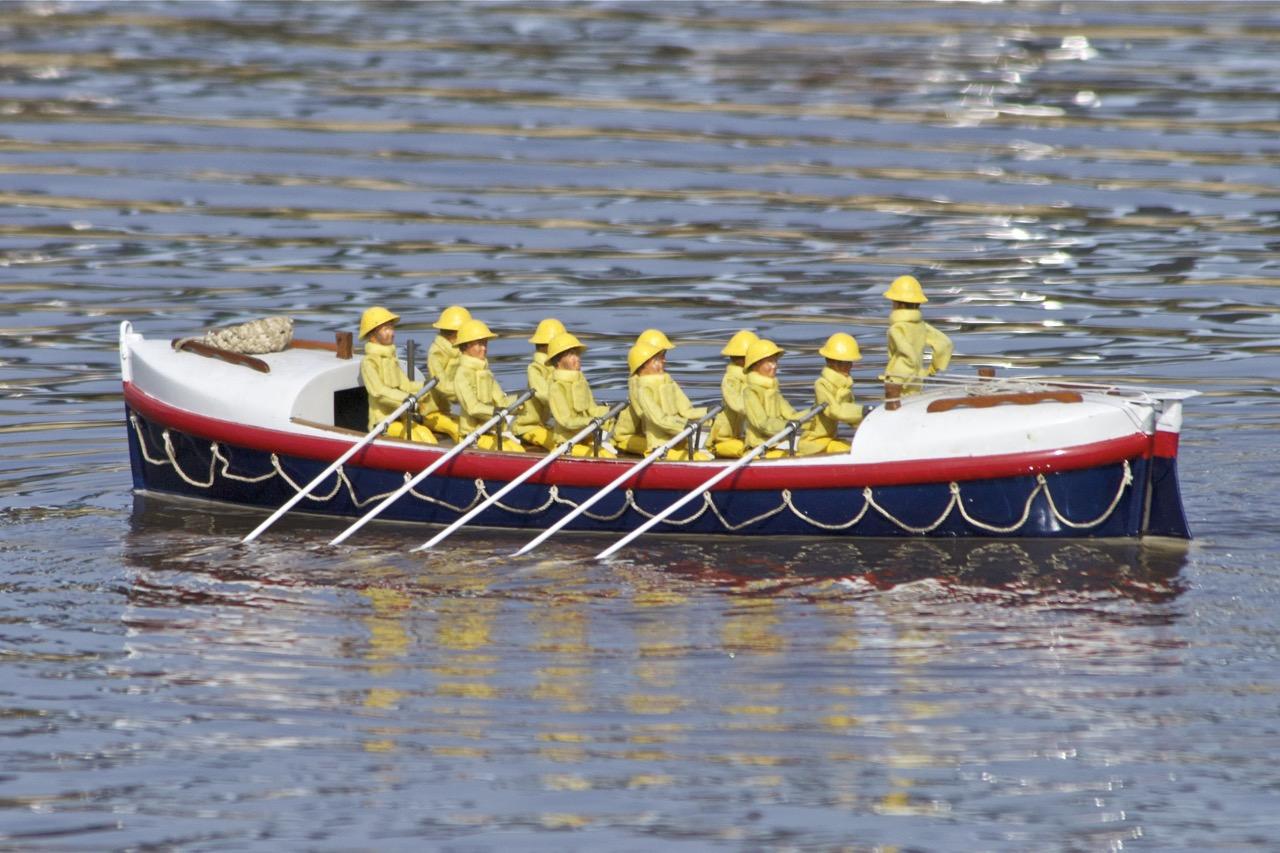 Rowed Lifeboat - Ralph Stockton