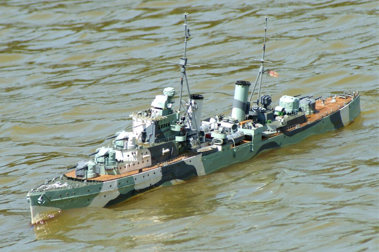 HMS Dido - Archie Howie