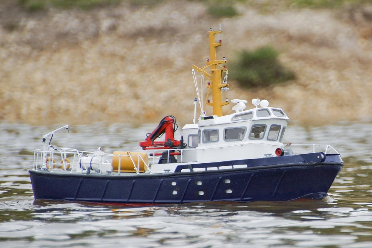 Conserver, survey vessel