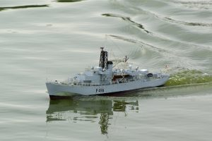 HMS Hurst Castle, Frigate