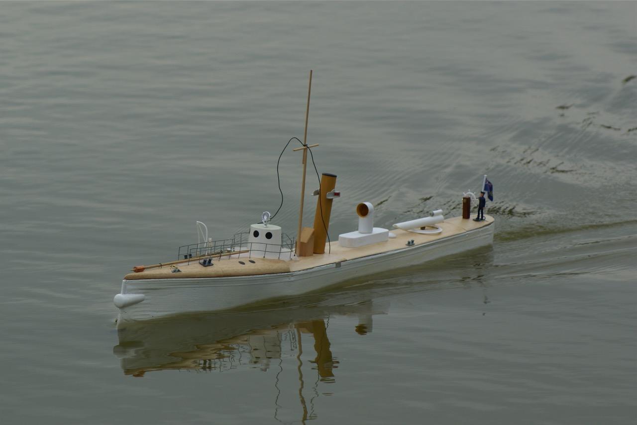 HMS Indescribable - Tony Crollie