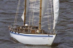 Inga IV, vintage yacht