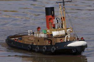 Martra, Steam Tug; model: Roger Cooper.