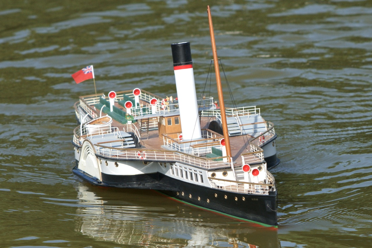 Albion, Paddle Steamer
