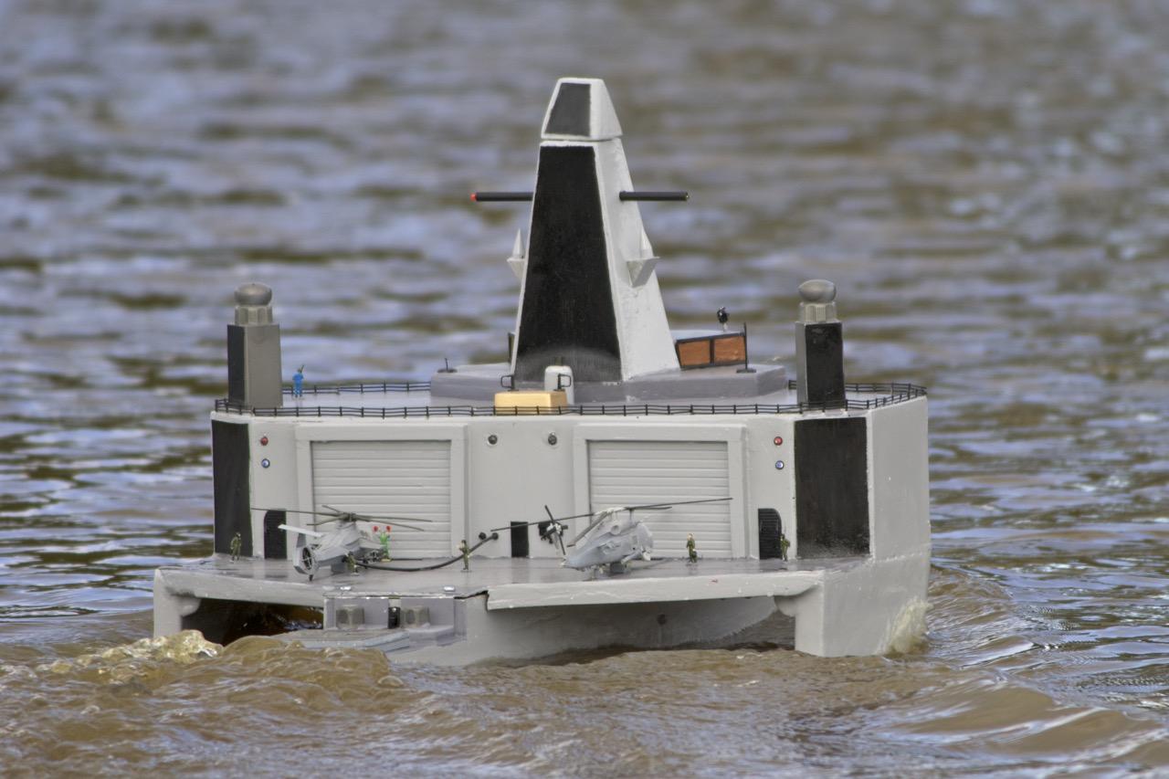 Trimaran frigate