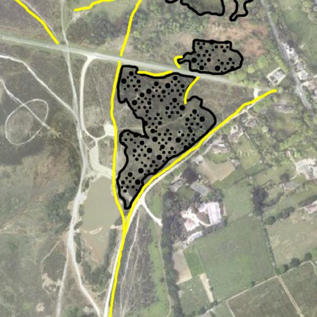 Setley Gravel Pit 1909-1938