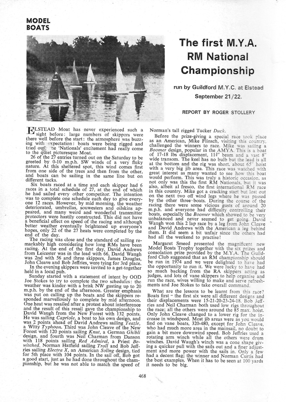 1974 November - Guildford RM Nats