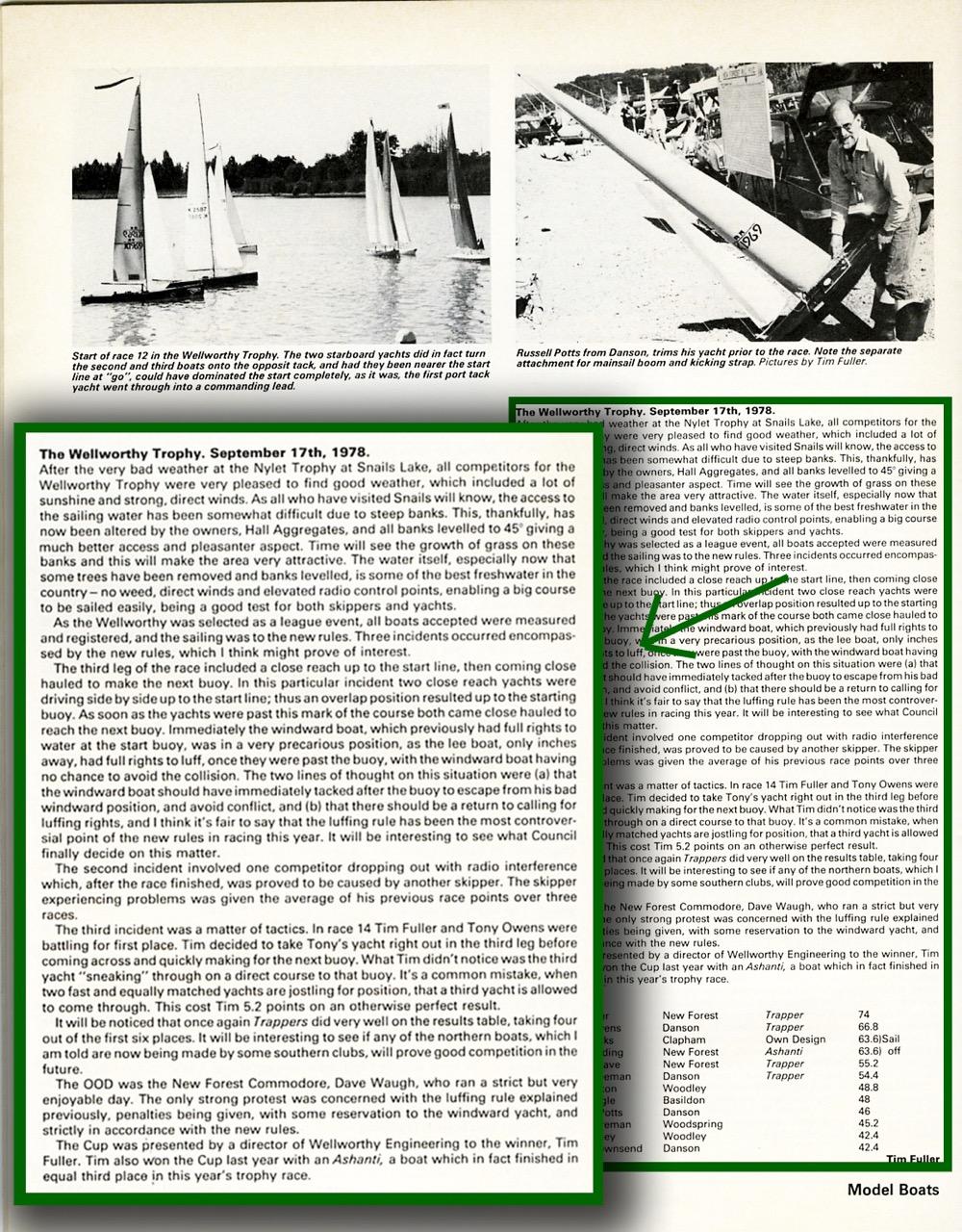 September 78: Snails Lake banks improved