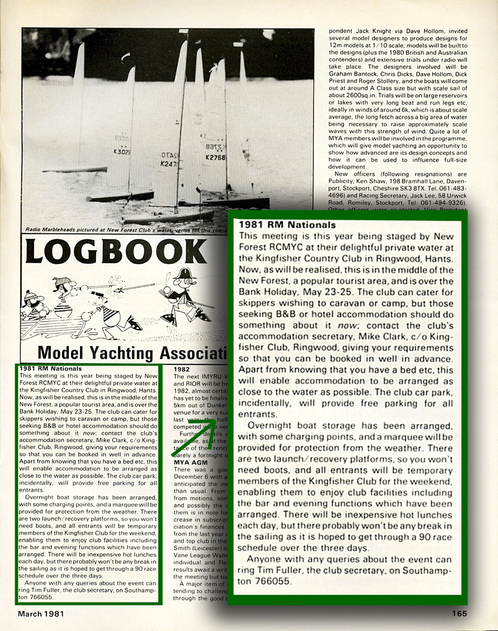 March 1981: RM Nats details