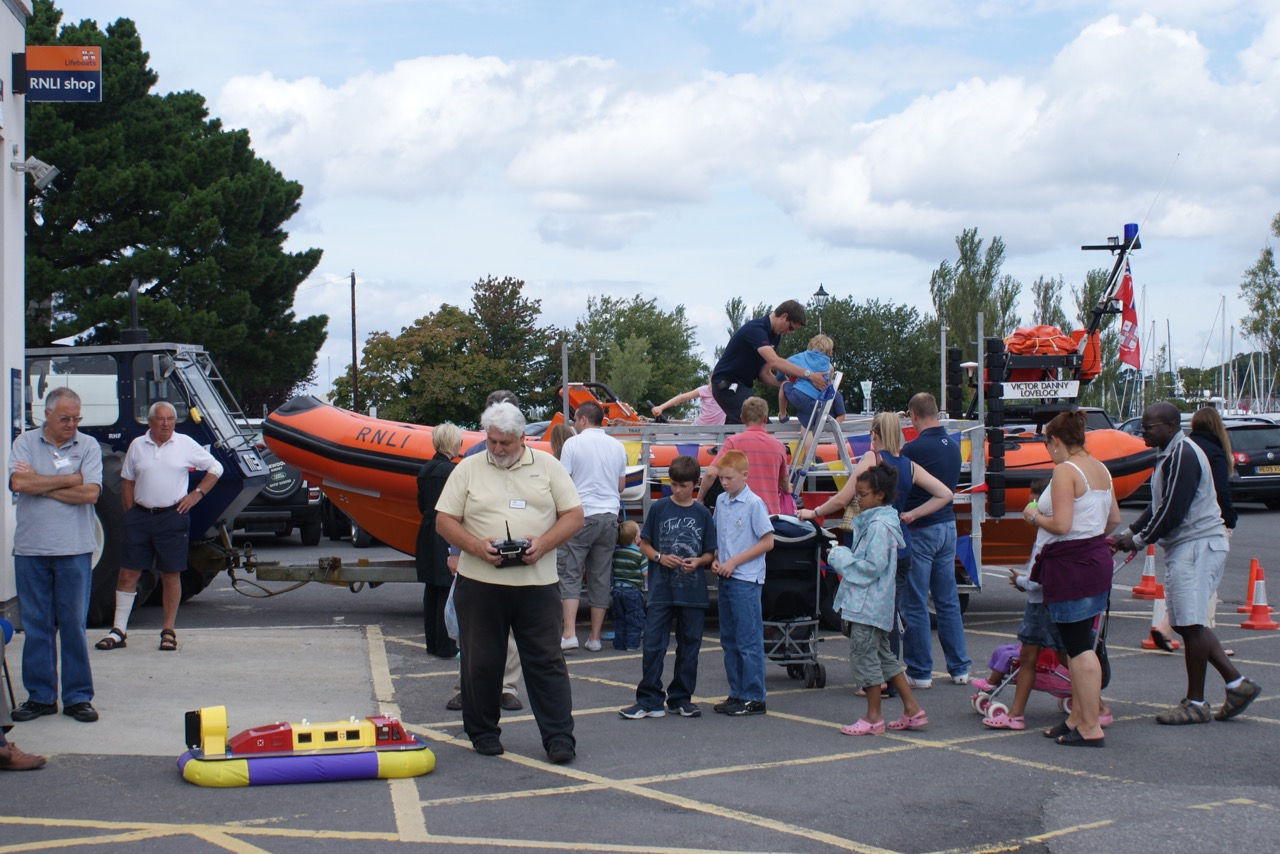Lymington RNLI Day