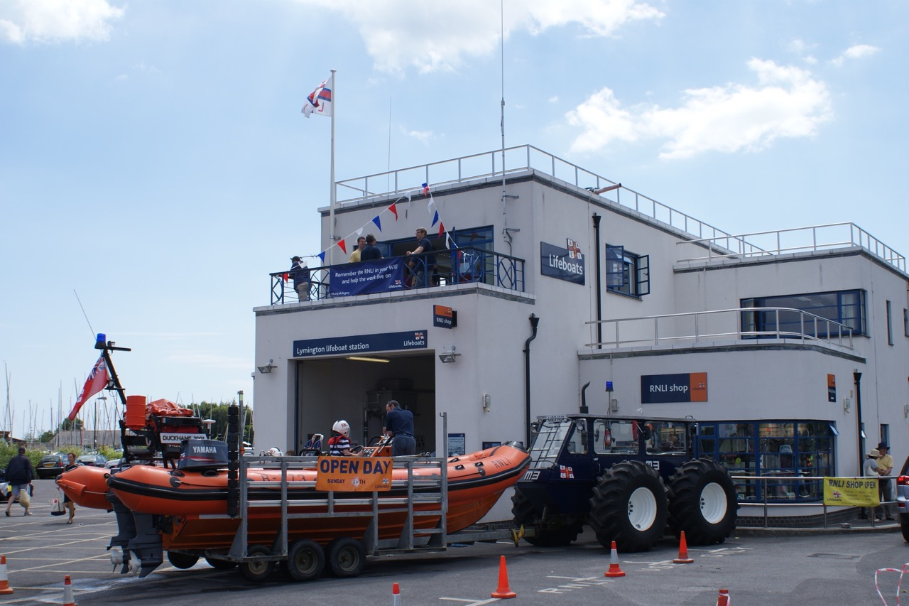 Lymington Lifeboat Day 2010