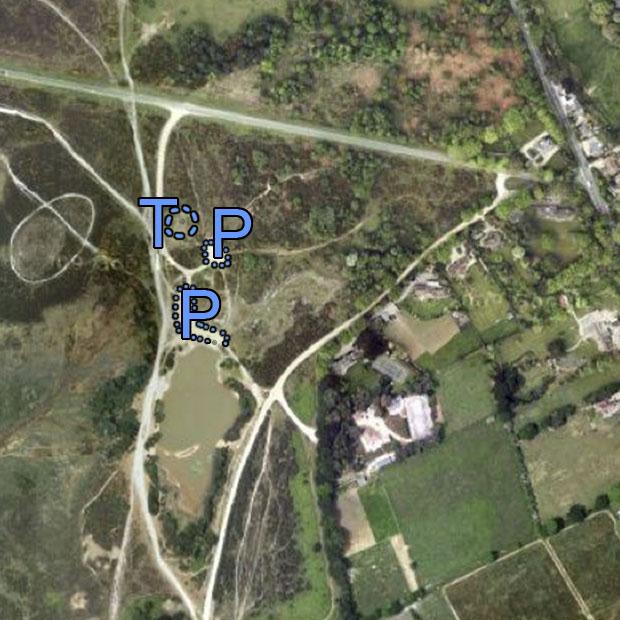 Setley Pond: Base Image