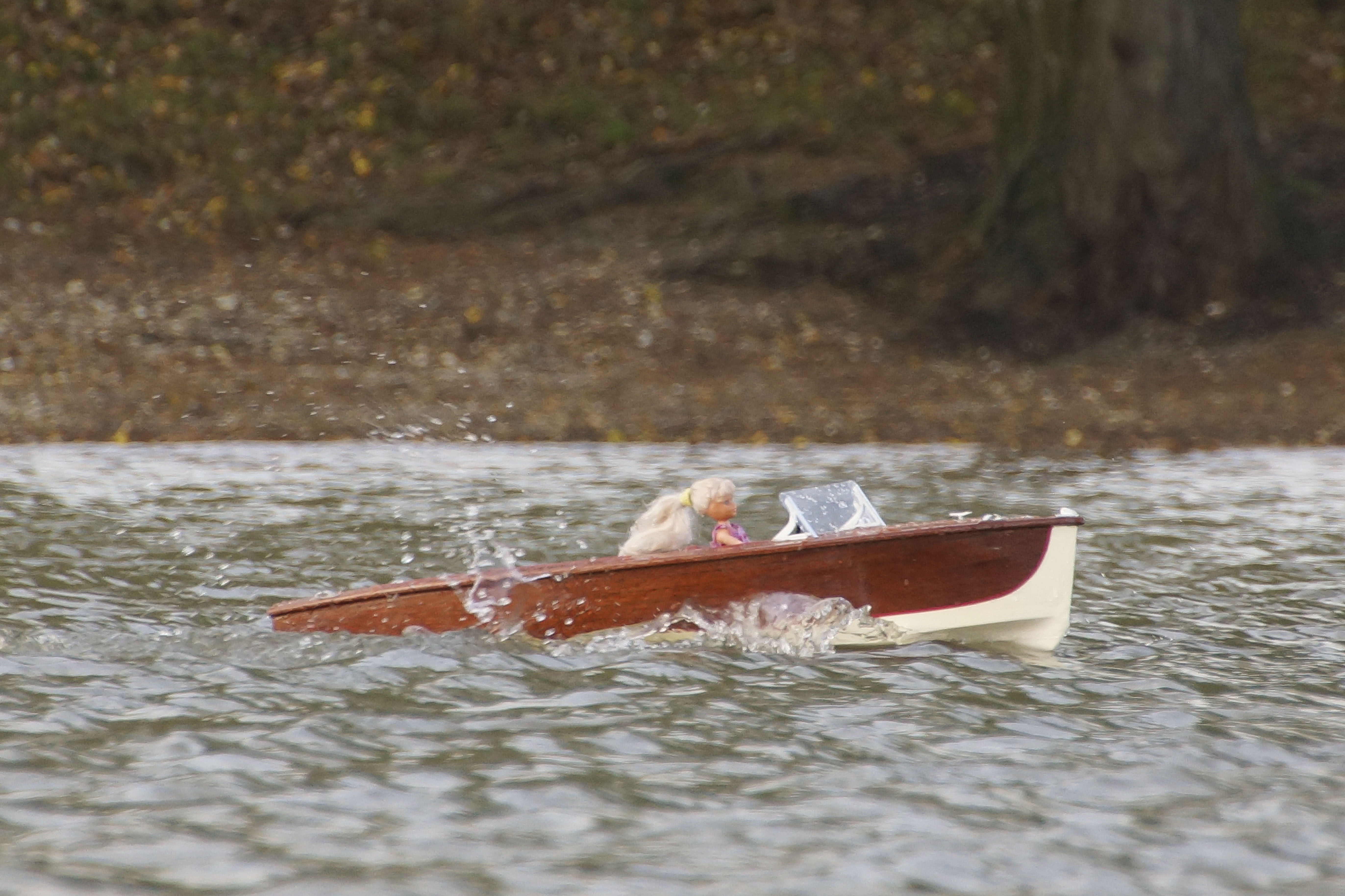 Wooden Speedboat - Roger Tuffill