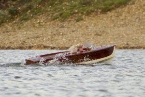 Classic Wooden Speedboat