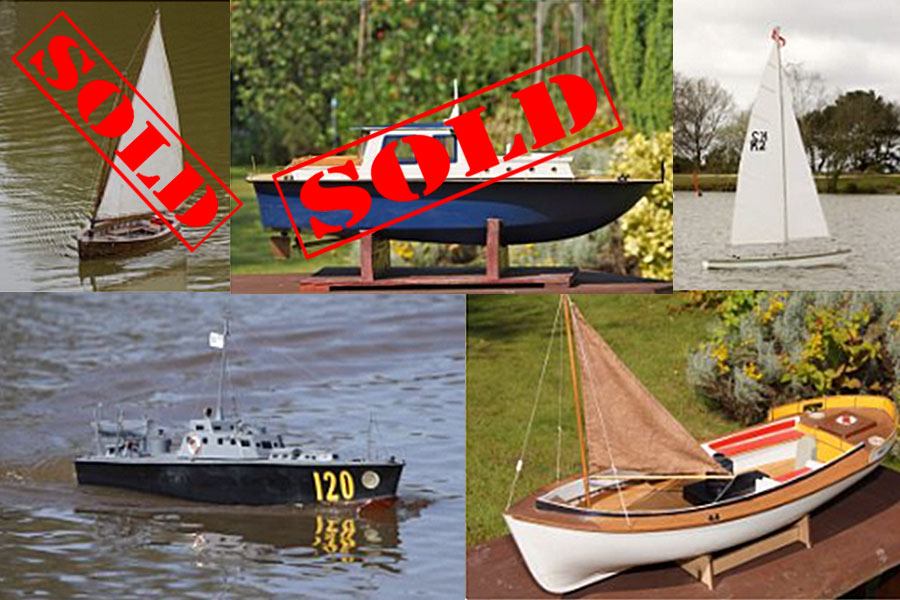 Selection of Boat Models (from Arthur Shannon)