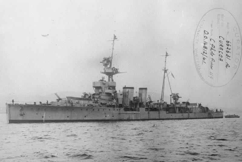 HMS Curacoa: Under construction