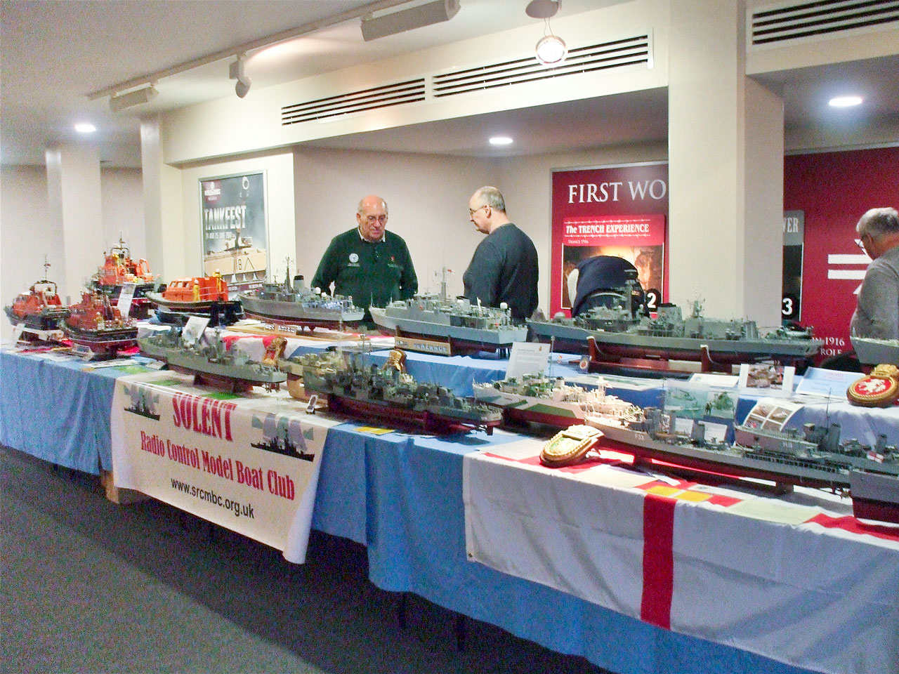 Club Display at Tank Museum Model Show 2017