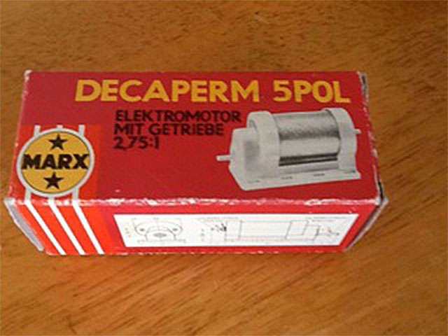 Decaperm Motor (from Ken Dyer)