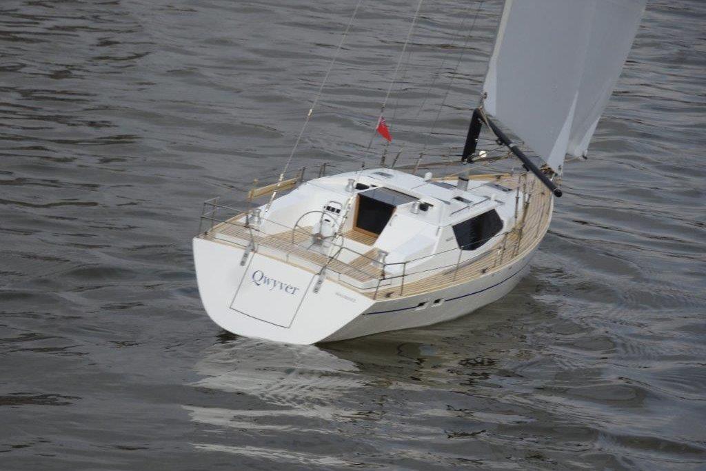 """Qwyver"" - Cruising yacht"