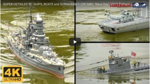 Super Detailed RC Ships, Boats and Submarines
