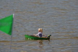 Girl in Dinghy